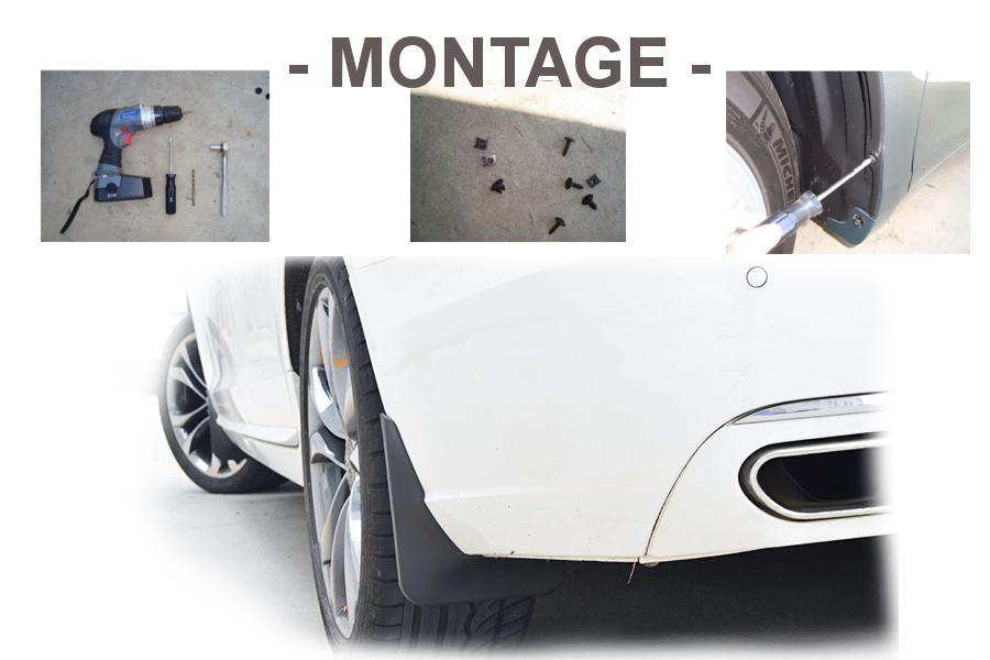 vw touran caddy schmutzf nge 4 st ck kotfl gel abdeckung. Black Bedroom Furniture Sets. Home Design Ideas