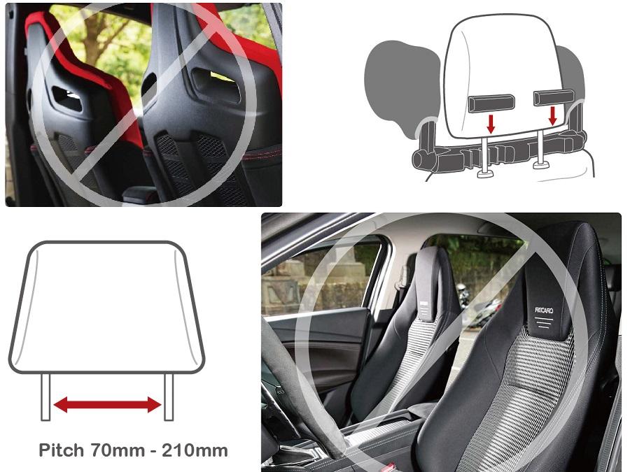 kinder erwachsene auto sitz kopfst tze nacken kissen f r. Black Bedroom Furniture Sets. Home Design Ideas