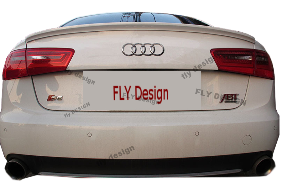 audi a6 tuning bodykit karosserieteile spoiler heckspoiler. Black Bedroom Furniture Sets. Home Design Ideas