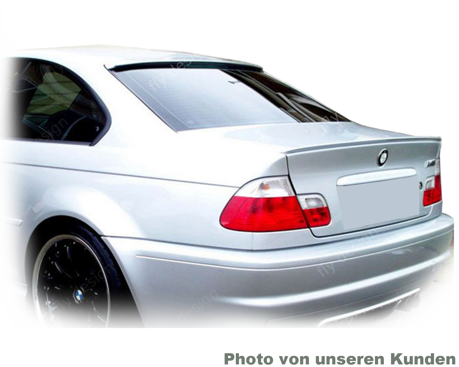 bmw e46 coupe tuning roof spoiler new roof edge spoiler. Black Bedroom Furniture Sets. Home Design Ideas