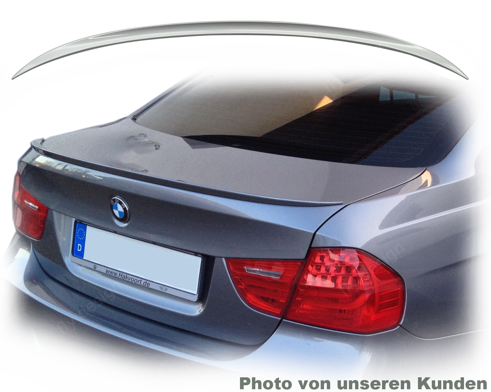 bmw e90 spoiler heckspoiler heckfl gel m3 lackiert spacegrau a52 type m3 ebay. Black Bedroom Furniture Sets. Home Design Ideas