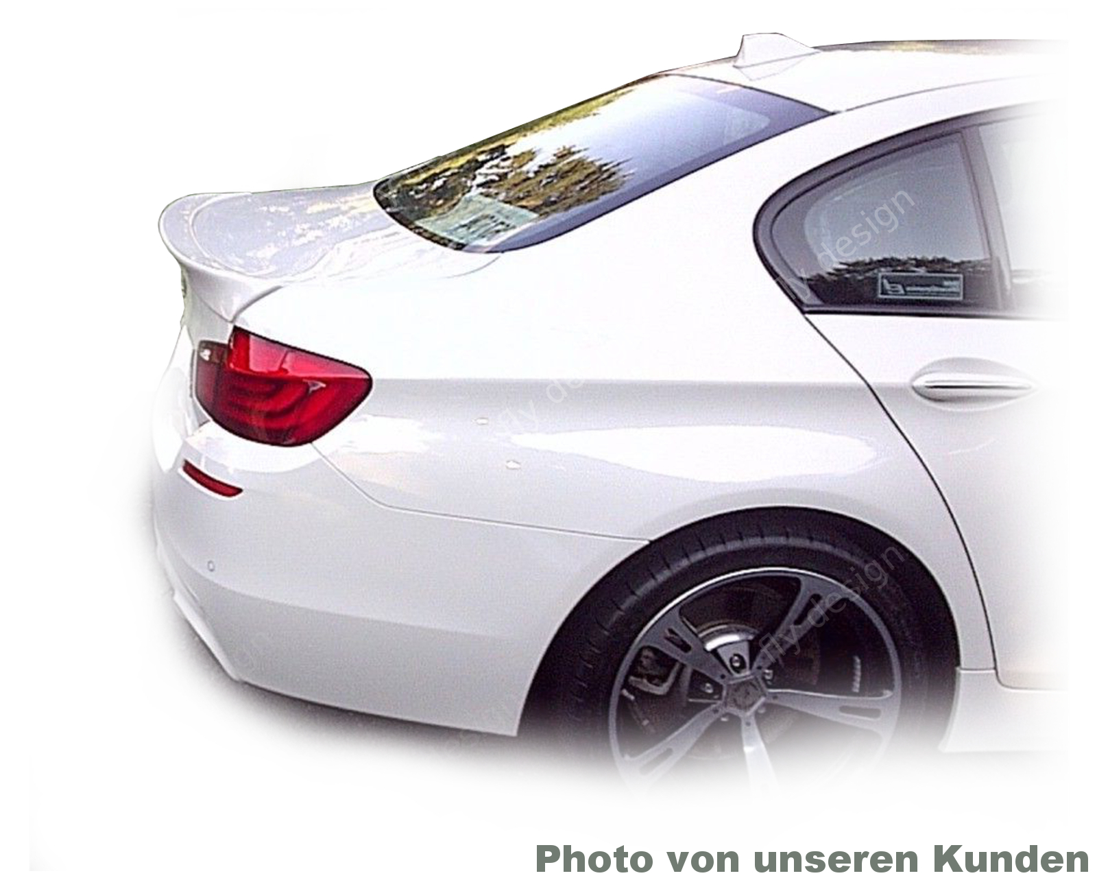 bmw f10 limo heckspoiler heckfl gel type a ebay. Black Bedroom Furniture Sets. Home Design Ideas