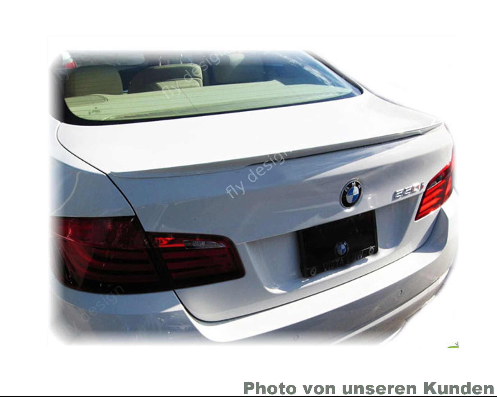 heckspoiler heckfl gel passend bmw f10 limo spoiler type. Black Bedroom Furniture Sets. Home Design Ideas