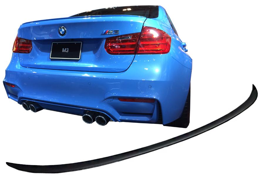 Heckspoiler aus ABS Performance Style passend für BMW 3er M3 F80 lip wing flügel