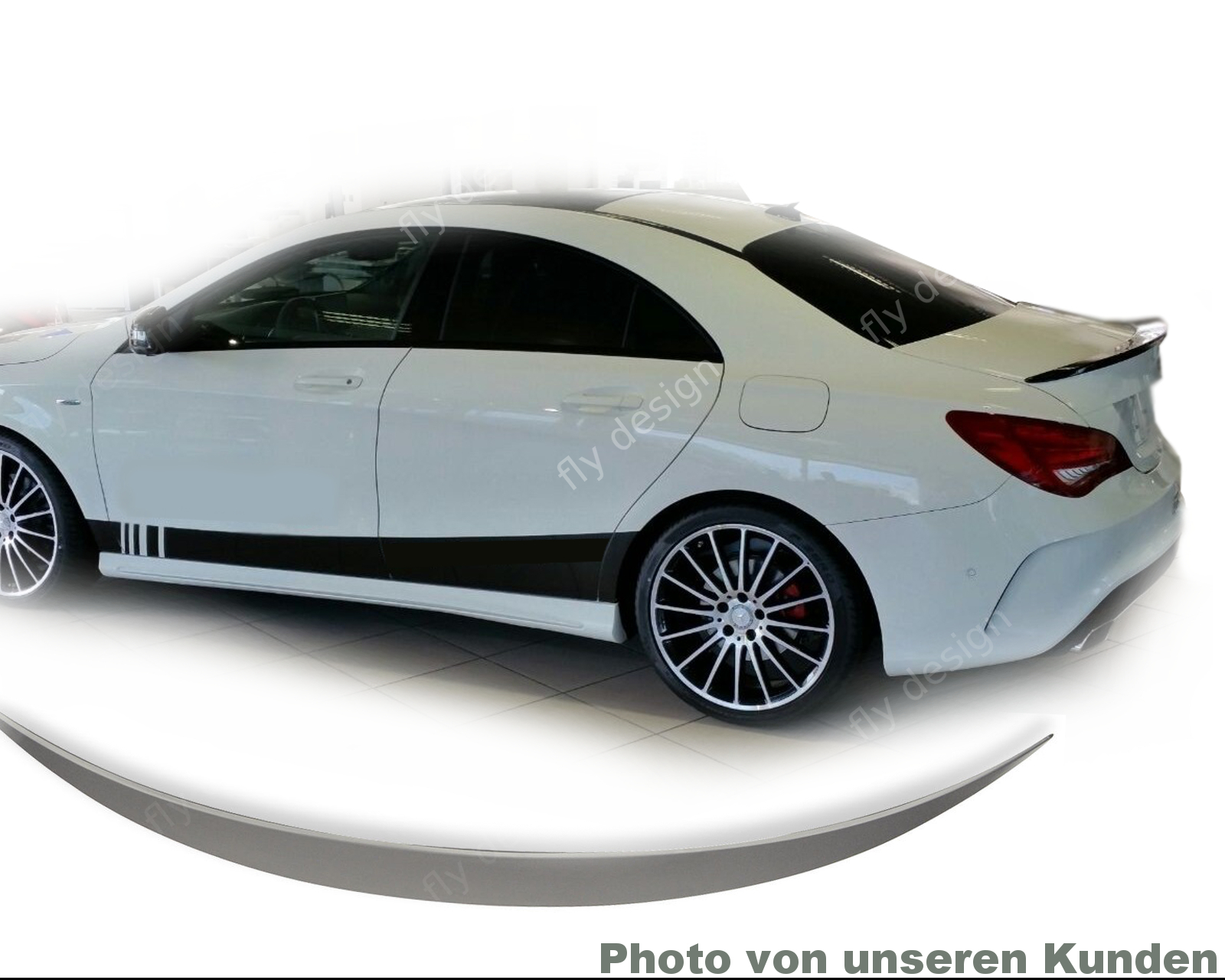 mercedes cla heckspoiler w117 45 amg bodykit felgen. Black Bedroom Furniture Sets. Home Design Ideas