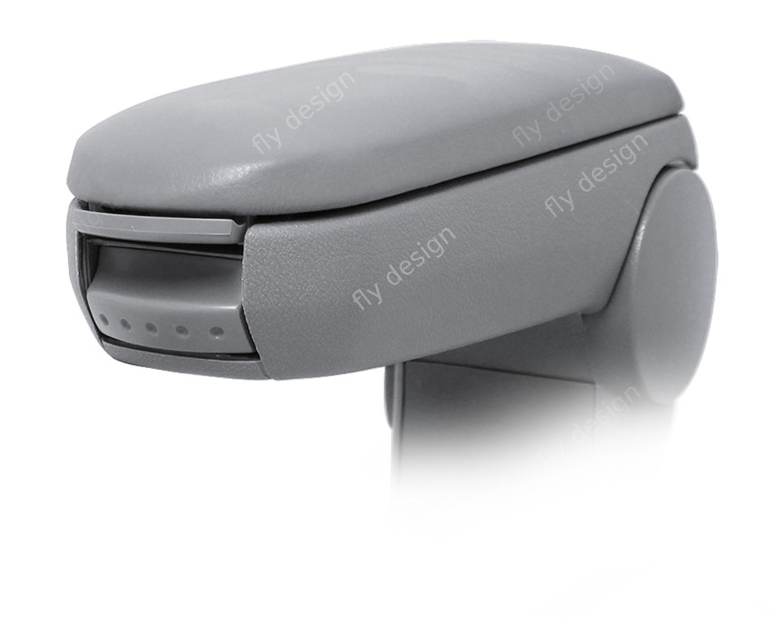 vw bora golf4 accoudoir central fois bras reste cuir gris ebay. Black Bedroom Furniture Sets. Home Design Ideas