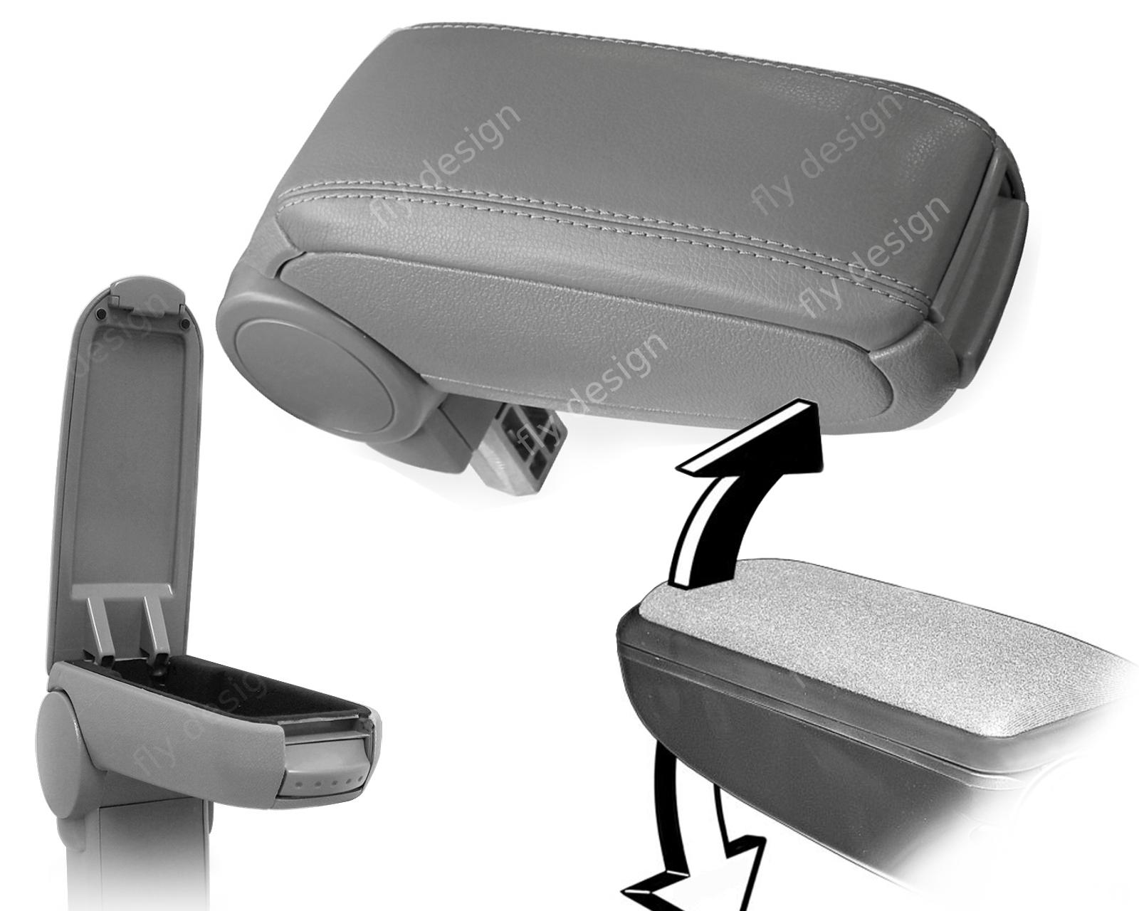 Auto Mittel Armlehne neu Abdeckung Deckel Konsole Textil Passat B5 2000–2005