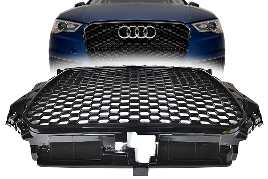 audi a3 8v rs3 s line s3 tuning 2012 frontgrill. Black Bedroom Furniture Sets. Home Design Ideas