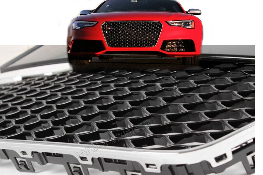 ecs type radiator grille for audi a5 facelift sline. Black Bedroom Furniture Sets. Home Design Ideas
