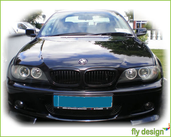 bmw e46 coupe cabrio nieren grill schwarz kidney calandre 3er 03 05 ebay. Black Bedroom Furniture Sets. Home Design Ideas