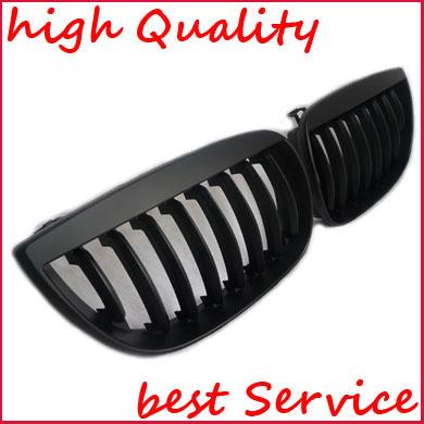 bmw e87 1er nieren grill k hlergrill schwarz 2004 2007 ebay. Black Bedroom Furniture Sets. Home Design Ideas