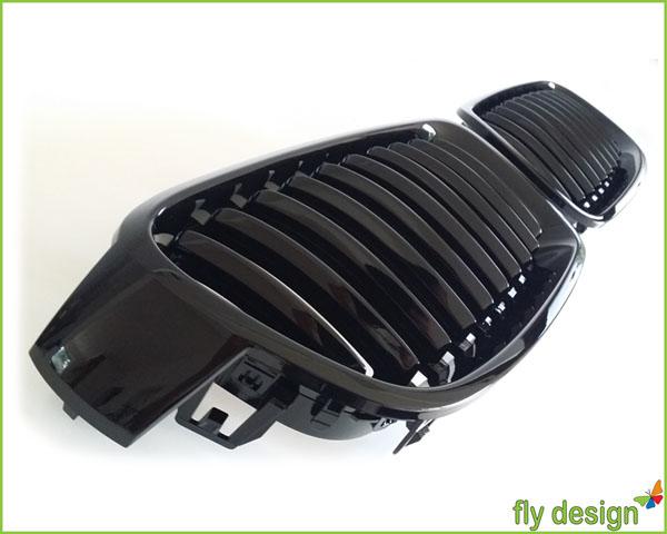 bmw f30 f31 3er m3 nieren grill k hlergrill schwarz. Black Bedroom Furniture Sets. Home Design Ideas
