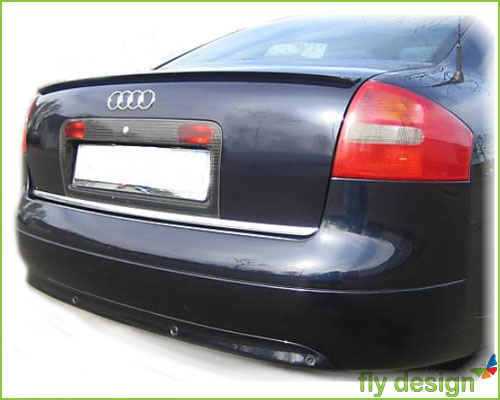 audi a6 c5 trunk lip spoiler sportive painted ebay. Black Bedroom Furniture Sets. Home Design Ideas