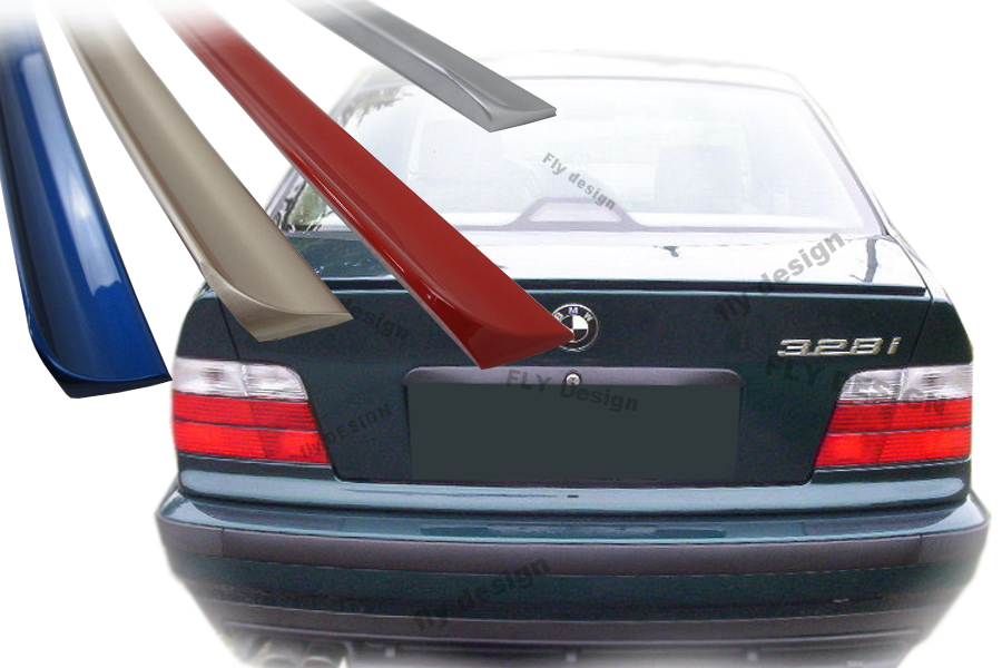 bmw e36 compact tuning spoiler m3 heckspoiler lackiert 303. Black Bedroom Furniture Sets. Home Design Ideas