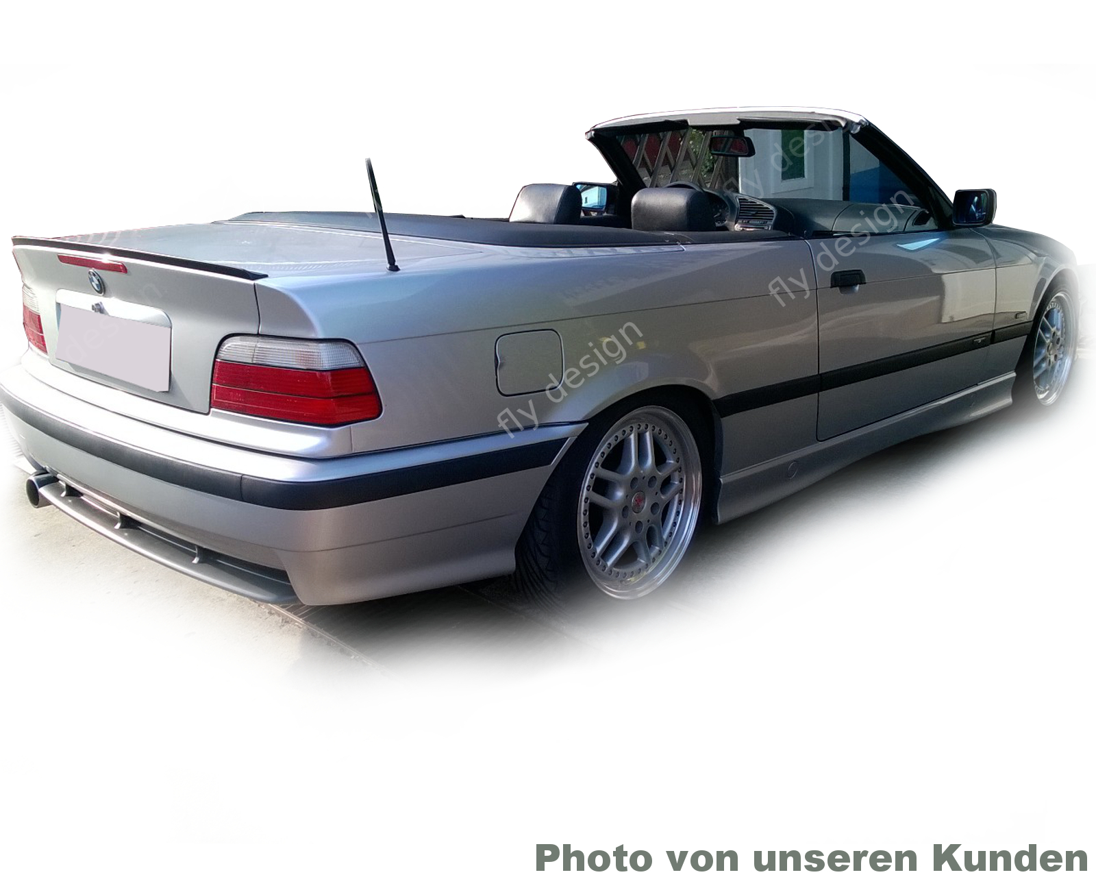 bmw e36 bodykit spoiler heckspoiler spoilerlippe m lippe kofferraum lip cabrio ebay. Black Bedroom Furniture Sets. Home Design Ideas