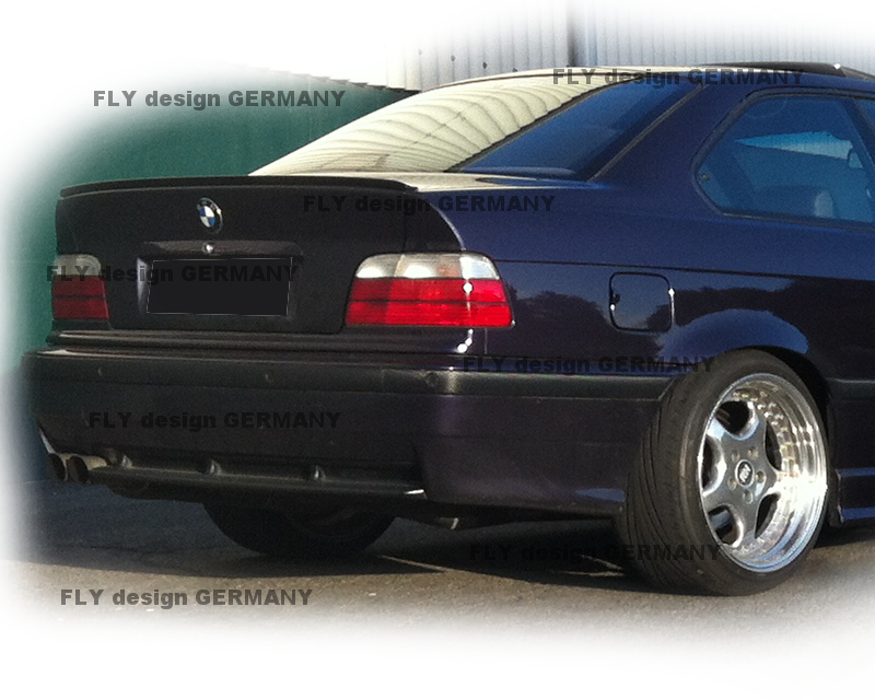 m spoiler bmw 3er coupe e36 heckspoiler lackiert lippe. Black Bedroom Furniture Sets. Home Design Ideas