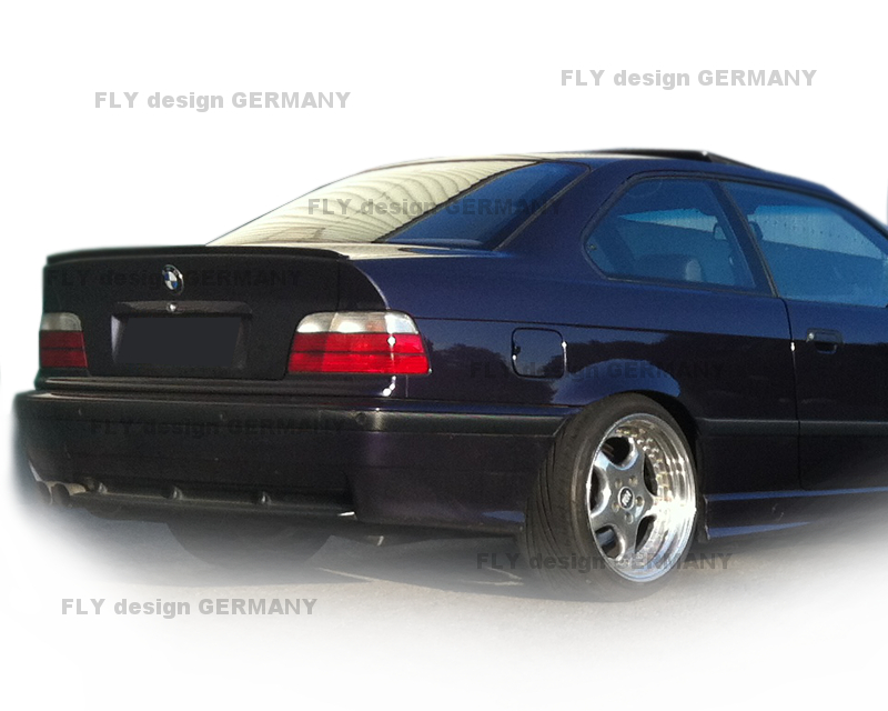 bmw e36 limo heckspoiler spoilerlippe kofferraum spoiler. Black Bedroom Furniture Sets. Home Design Ideas