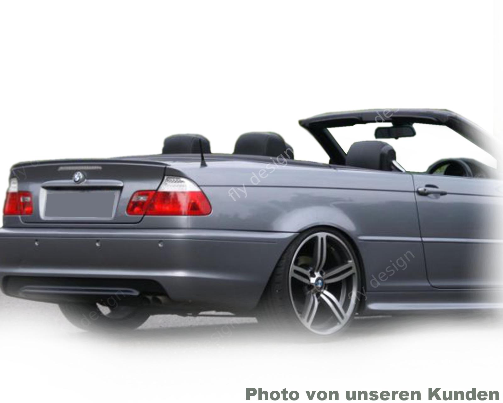 Für Bmw E46 3er Cabrio Spoiler Heckflügel Heckspoiler Kofferraum M3