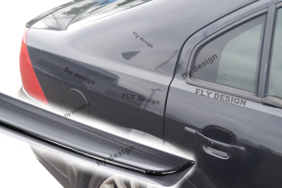 Ford Mondeo Tuning MK 2 Heckspoiler Abrisskannte neu Diffusor Spoiler Karosserie