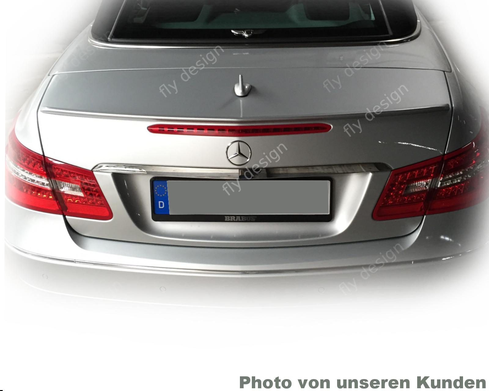 Mercedes Benz 207 E E220 E250 350 200 320 CGI CDI E550 SportPaket Autospoiler