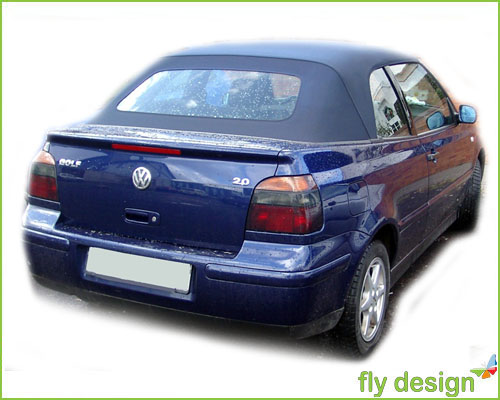 vw golf 3 4 iii iv cabrio spoiler heckspoiler 1993 2002 ebay. Black Bedroom Furniture Sets. Home Design Ideas
