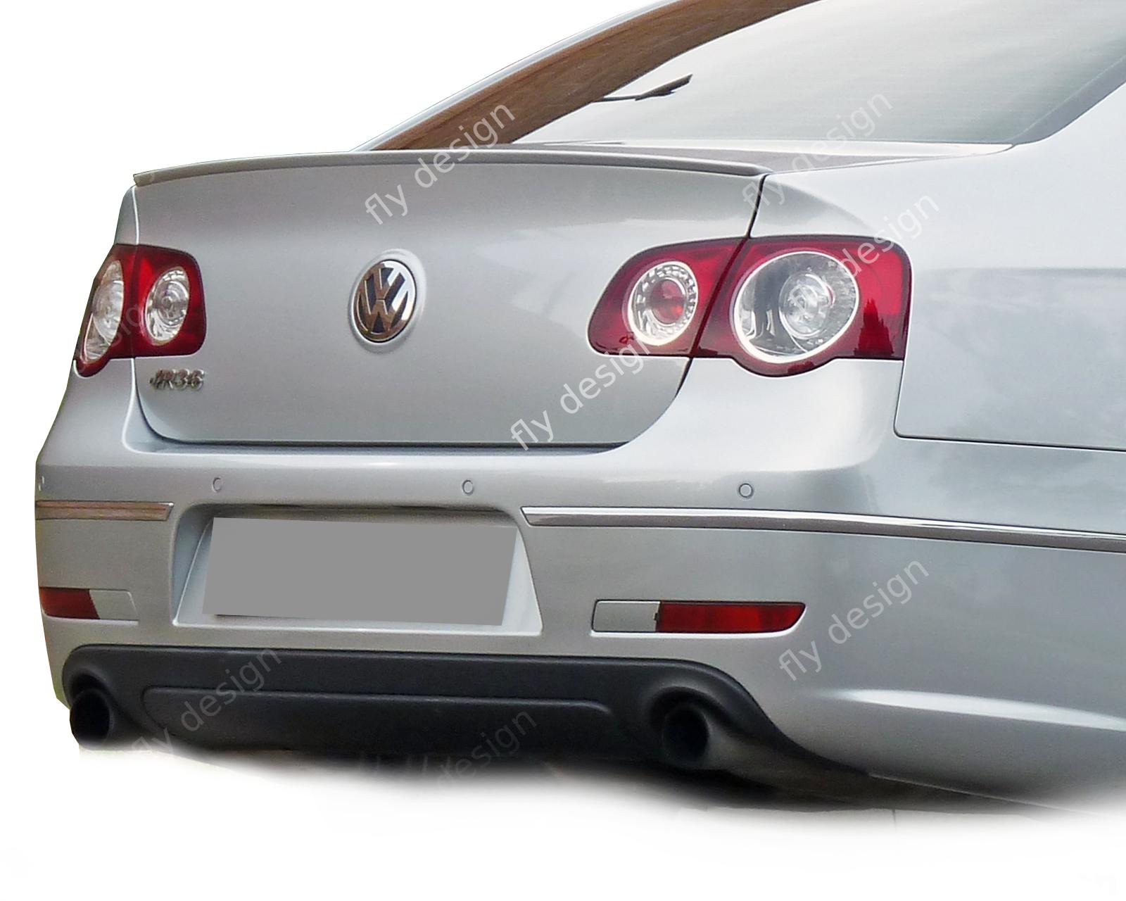Vw Passat Limousine R Line Stil Tuning 2005 10 Spoiler